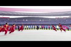 2019年南京商业学校秋季运动会在奥体举行